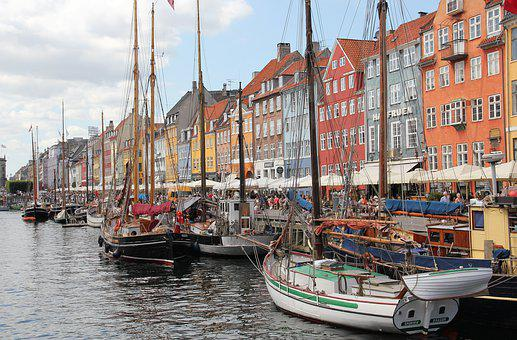 Port, Copenhagen, Water, Denmark, Channel, Capital