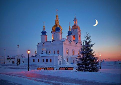 Tobol'sk, Siberia, Russia, Temple, Church, Architecture
