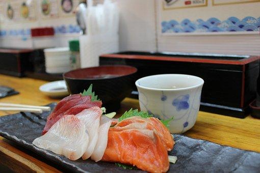 Sashimi, Japan, Market, Sushi, Japanese, Food