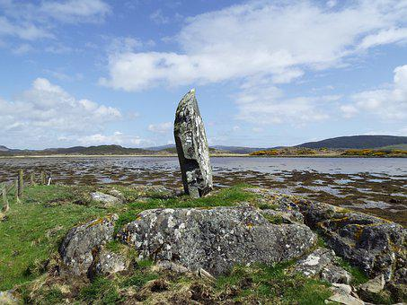 Coastal, Argyll, Scotland, Uk, West Loch Tarbet, Rock