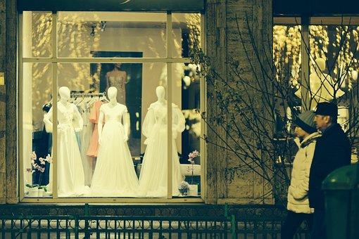 Street, The Window, Facade, Building, Shop, Dresses