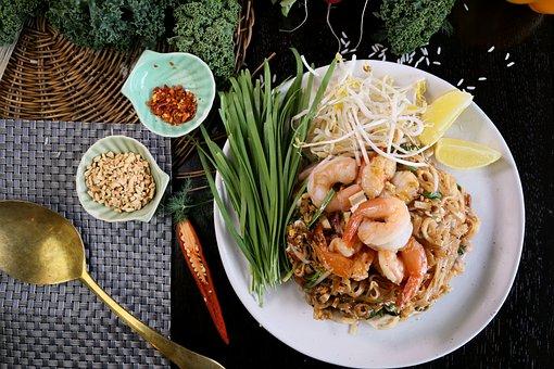 Pad Thai, Pad Thai Prawn, Thai Food, Thai Noodle