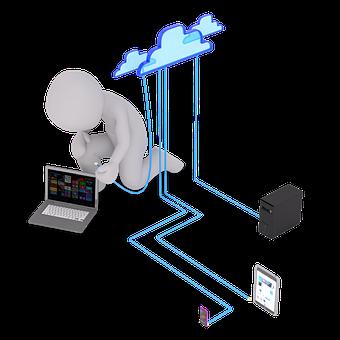 Computer, Internet, Wifi, Cloud