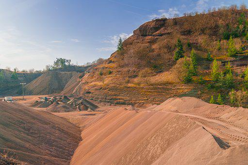 Removal, Landscape, Mining, Nature, Africa, Pit