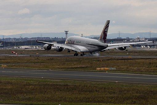 Airport, Airplane, Aircraft, Runway, Vehicle, Flight