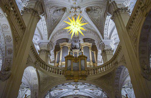 Architecture, Church, Religion, Building, Light