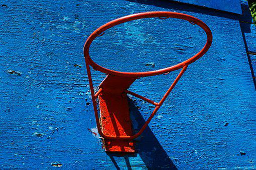 Basketball Hoop, Basketball, Basketball Backboard, Wrap