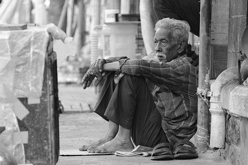 Black, Poor, Poverty, Man, Sad, Portrait, Life
