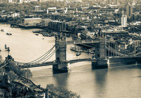 London Bridge, Bridge, City, Landmark, River, Tower