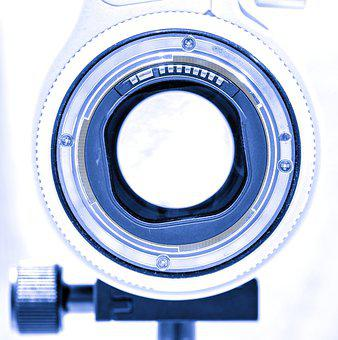 Lens, Camera, Close Up, Technology, Detail, Canon