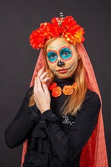 Mexican Halloween, Day Of The Dead, Carnival, Festival