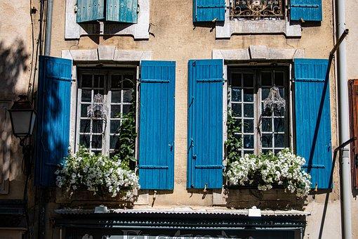 Saint-rémy-de-provence, Window, Neighbors, Downtown