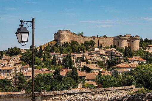 Fort Saint André, Provence, Avignon, South Of France