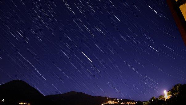 Star, Night, Lan, Starry Sky, Galaxy, Sky, Dark