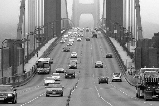 Golden, Gate, Bridge, California, Usa, San Francisco