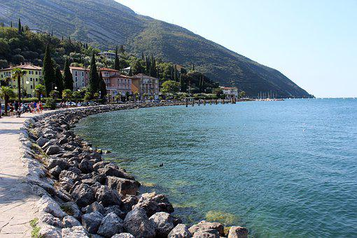 Garda, Walk, Italy, Web, Promenade, Holidays, Mountain