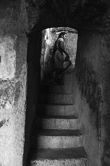 Black And White, Architecture, India, Indian, Detail