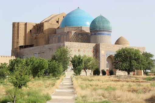 Turkestan, Novruz, Islam, Kazakhstan, Mausoleum