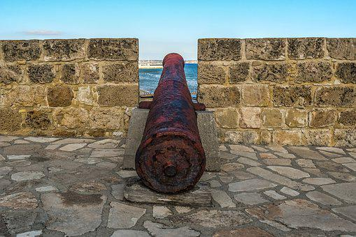 Canon, Fortress, Castle, Larnaca, Cyprus