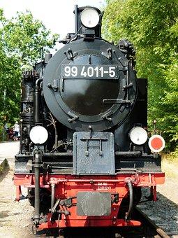 Steam Locomotive, Locomotive, Steam, Water Vapor
