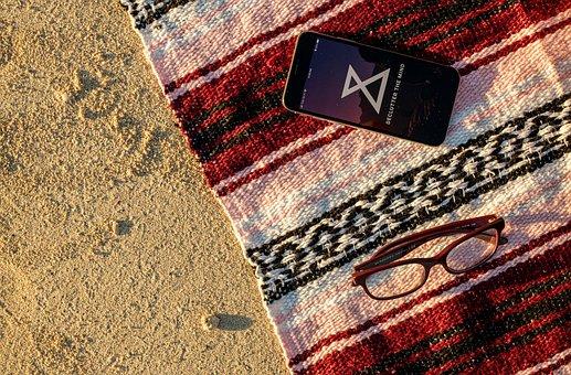Beach, Sand, App, Iphone, Meditation App, Meditation