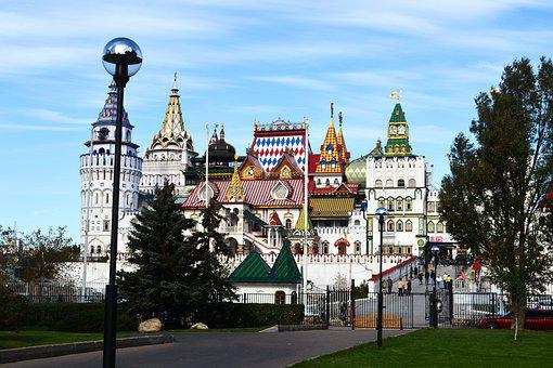 Moscow, Russia, Moscow-city, City, Building, Showplace