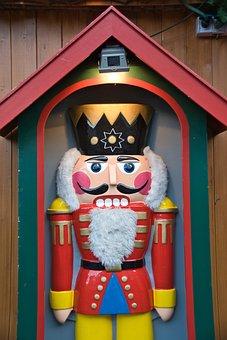 Nutcracker, Christmas, Figure, Christmas Market