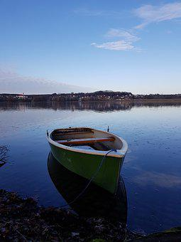 Boat, Helm, Green, Water, Leisure, Lake, Paddle, Nature