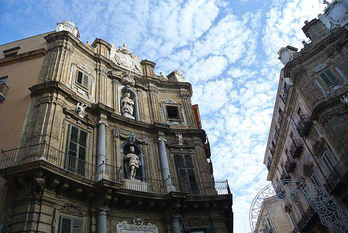 Quattro Canti, Palermo, Space, Places Of Interest