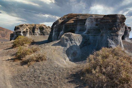 Lava, Rock, Lava Stone, Volcanic, Petrified, Lanzarote