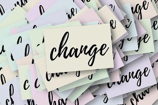 Change, New Beginning, Switch, Road Sign, Keep, Present