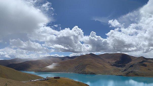 Tibet, Plateau, Mountain, Scenery