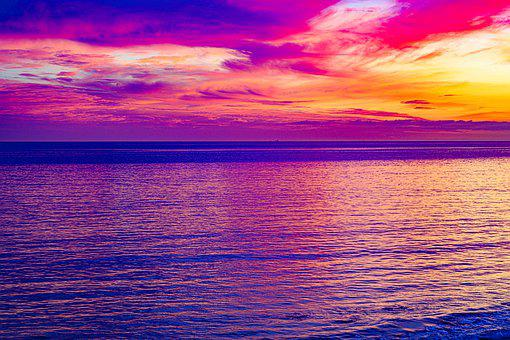 Malibu, Ocean, Coast, Beach, Sea, Scenic, Sun, Seashore