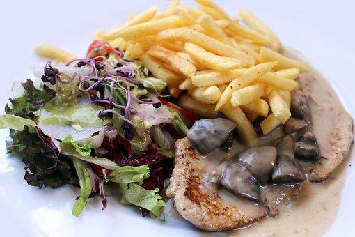 Eat, Schnitzel, Food, Menu, Main Course, Meat, Kitchen