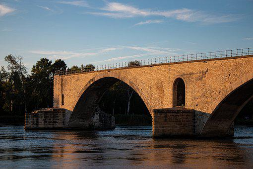 Provence, Pont Saint Bénézet, Avignon, South Of France
