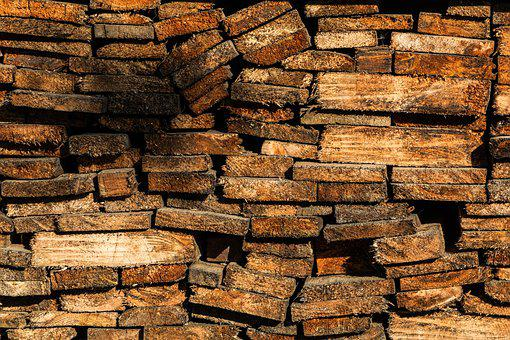 Boards, Firewood, Summer, Village, Wood, Lumber, Tree