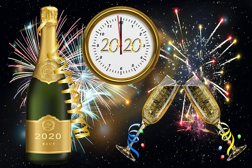 New Year's Eve, New Year's Day, 2020, Sylvester