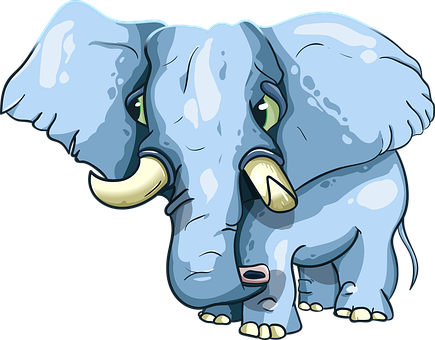 Elephant, Tusks, Trunk, Eared