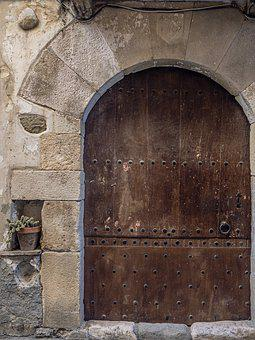 Door, Medieval, Old, Architecture, House, Arc, Portal