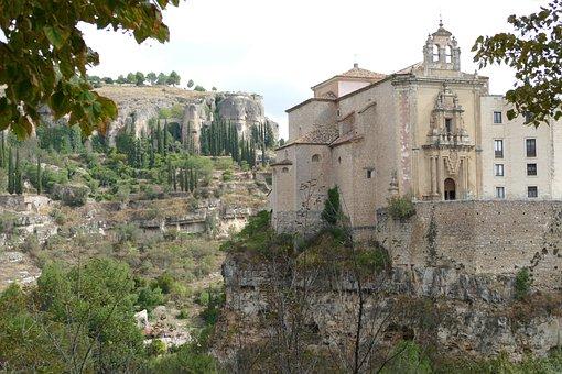City, Cuenca-ecuador, Spain, High, Church, Architecture