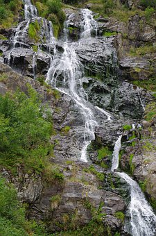 Waterfall, Todtnau, Flow, Rock, Bach, Murmur, Water