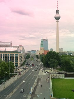 Berlin Television Tower, East Berlin, Berlin, Germany