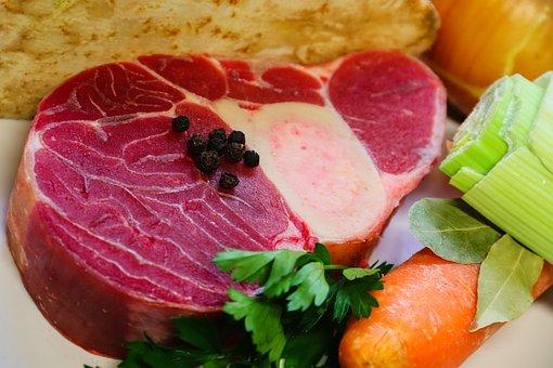 Bouillon, Leg Disc, Beef, Vegetables, Carrot, Celery