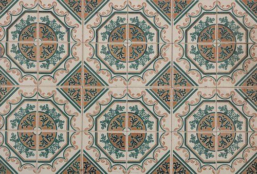 Portugal, Ceramic Tiles, Wall, Covering, Regular