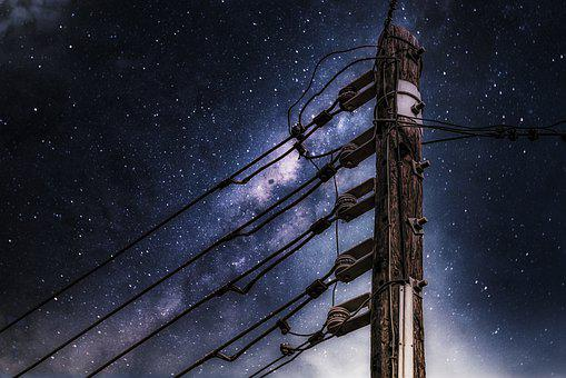 Electricity, Current, Technology, Old, Simply