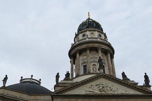 Berlin, Gendarmenmarkt, Architecture, Capital, Dome