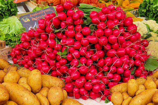 Background, Eat, Bio, Fresh, Vegetables, Market, Potato