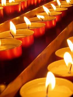 Candles, Church, Candle, Light, Flame