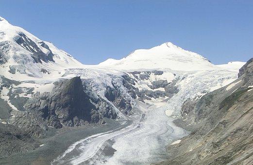 Grossglockner, Glacier, Ice, Snow, Mountain