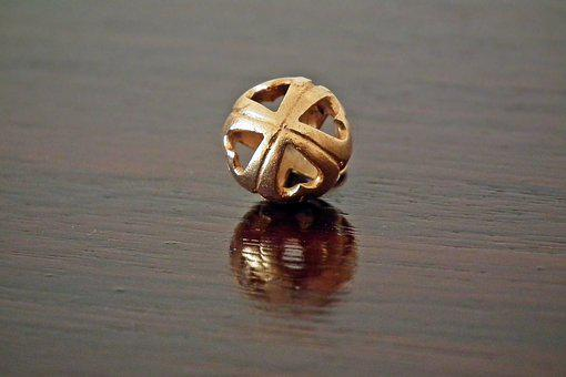 Pendant, Gold, Handicraft, Jewelry, The Art Of, Macro